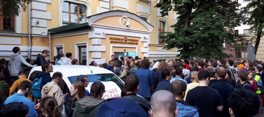 Мосгоризбирком услышал независимых кандидатов в Мосгордуму