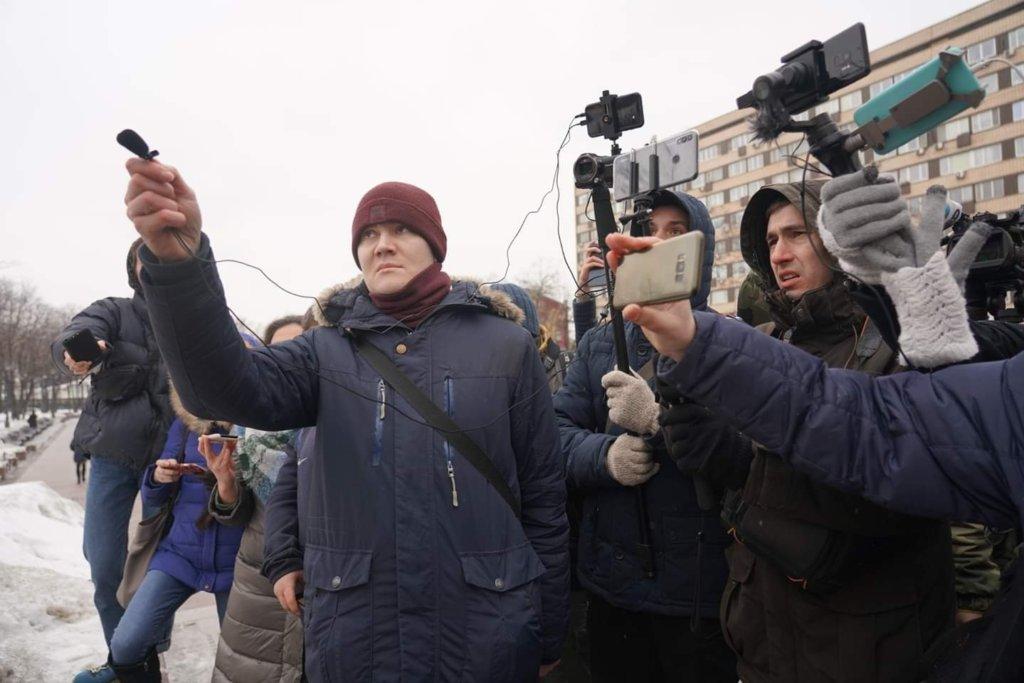 Журналист Денис Стяжкин
