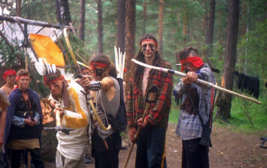 Красноярские ролевики – игра «Дымовка» 2002 год