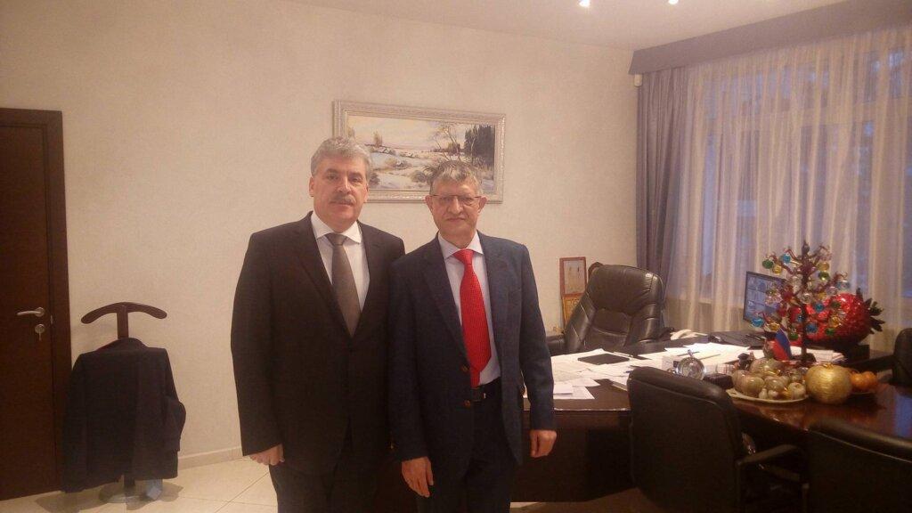 Владимир Мохов и Павел Грудинин
