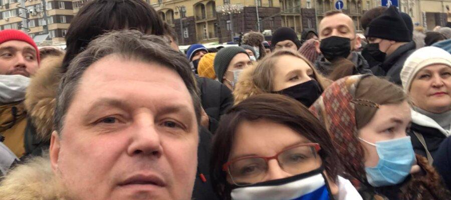 Владимир Залищак и Юлия Галямина